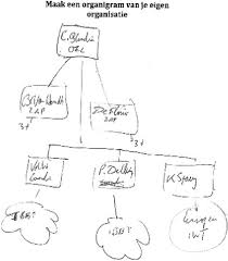 Example Of An Organizational Chart Download Scientific