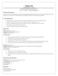 Derivatives Analyst Resume
