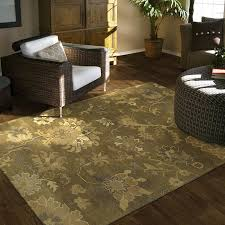 transitional earth tone great room rug
