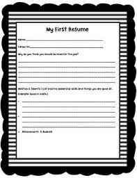 15 Image Gallery of My First Resume