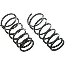 Moog coil springs set of 2 rear new for nissan armada infiniti qx56 81091