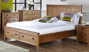 Wooden bed base King Size 135cm Bedstead Wild Coast End Drws Brushed Pine Kogancom Wild Coast Wooden Bed Frame Bensons For Beds