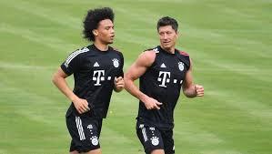 Idrissa gueye scored the only goal. Fc Bayern Leroy Sane Schwarmt Von Fcb Kollege Robert Lewandowski