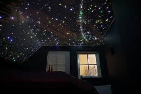 Led Star Ceiling Lights Bedroom Led Star Ceiling Galaxy Mycosmos