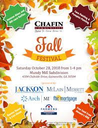 Mundy Mill Fall Festival Invite 2 Chafin Communities
