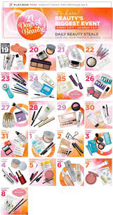 ulta 21 days of beauty is almost here got your haul list ready starting march 19th 2017 through april 7th you ll be able to score some might fine deals