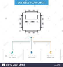 Basic Computer Flow Chart Processor Hardware Computer Pc Technology Business Flow