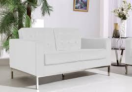 at home usa ahu 055 wht 11 f08 white loveseat