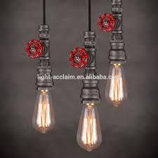 2016 Heißer Verkauf Vintage Led Industrielle Lampe Schmiedeeisen Kronleuchter Beleuchtung Einfach Hängendes Licht Buy Einfache Hängelampevintage