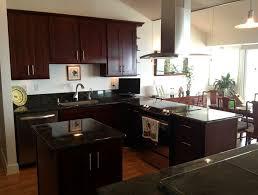 cherry kitchen cabinets black granite. cherry kitchen cabinets with black granite