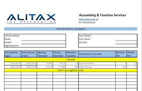 Drivers Log Book Sample Logbook For Uber Drivers Alitax Tax Preparation