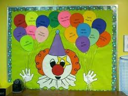 Birthday Charts For Preschool Classroom Birthday Balloon Template For Classroom Barrest Info