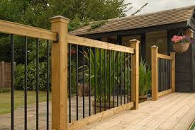 how to install deck railings and baers yourself install deck railing