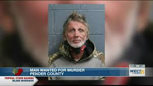 Man wanted for murder in Pender County