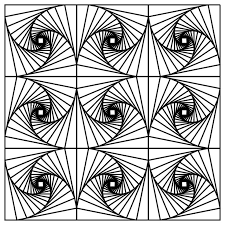 Small Picture Fractal Coloring Page Coloring Home