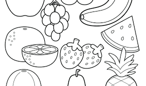 Best Of Fruit Colouring Pages Pdf Gallery Printable Coloring Sheet