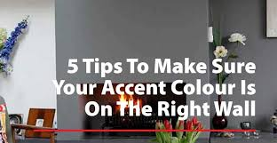 your accent color is on the right wall