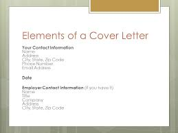 Elements Of A Good Cover Letter Job Application Letter Cover letter ppt video online download 45