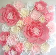 fantastic wedding paper flower wall 15 on wedding flower ideas with inside incredible as well as