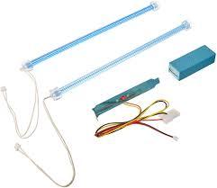 Kingwin Cold Cathode Light White Logisys Clk12bl2 Dual Cold Cathode Light Kit Blue