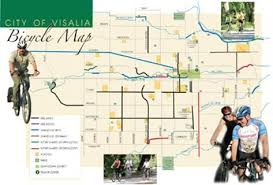 Visalia Rawhide Seating Chart Bicycle Map City Of Visalia Alternate Transportation