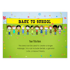 Back To School Invitation Template Back To School Invitations Cards On Pingg Com