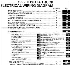 toyota wiring color codes toyota image wiring diagram 1992 toyota truck wiring diagram manual original on toyota wiring color codes