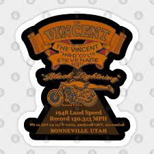 the vincent black lightning motorcycle
