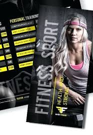 Training Flyer Personal Trainer Flyer Templates Training Brochure Free