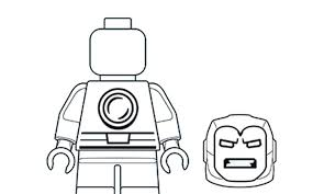Do you like lego coloring pages? Drawing Skill Lego Iron Man Drawing