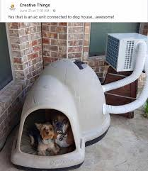 air conditioning dog house. no automatic alt text available. air conditioning dog house