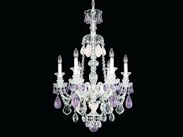 schonbek crystal chandelier with crystals rock by milano