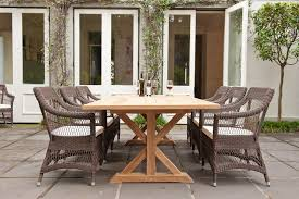 Amazing Teak Outdoor Dining Table