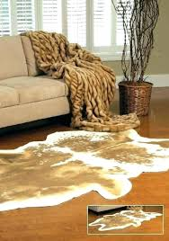 brown zebra rug and cream area decoration cowhide rugs white