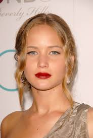 Middle Split Hair Style jennifer lawrence hairstyles from short to long hair 4499 by stevesalt.us
