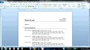 how do you make a resume on microsoft word how to create resume in word  samples