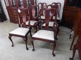 Solid Cherry Henkel Harris Chairs Set of 6 SOLD – Jenkins Antiques