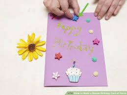 who to make greeting card make a homemade birthday card how to make homemade greeting cards
