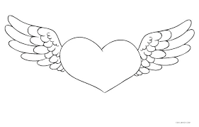 Colouring Pages Hearts And Flowers Printable Valentines Coloring For