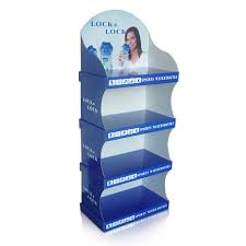 Floor Standing Display Units Custom Cardboard Displays Corrugated Cardboard Floor Displays 2