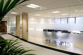 frameless glass partition systems