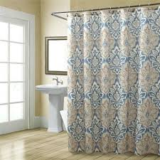 Shower Curtains Grey And Tan Shower Curtain Navy Blue And Tan