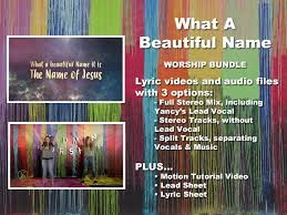 What A Beautiful Name Video Worship Song Track With Lyrics