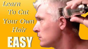 learn how to give yourself a haircut in 5 minutes