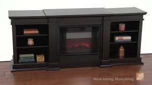 home depot electric fireplace insert beautiful real flame fresno dark walnut electric fireplace and entertainment