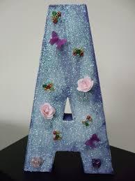Paper Mache Decorating Guest Post Diy Decorated Mache Letters