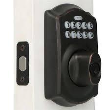 keypad front door lockElectronic Door Locks  Door Knobs  Hardware  The Home Depot