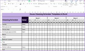 monthly house cleaning schedule template microsoft excel employee schedule template nne1a beautiful house