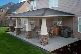 cost for building a covered patio designs