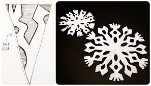 Paper snowflake pattern with christmas stars cut out template from paper snowflakes patterns category. 25 Ways To Cut Out Snowflakes Diys Tutorials Free Templates